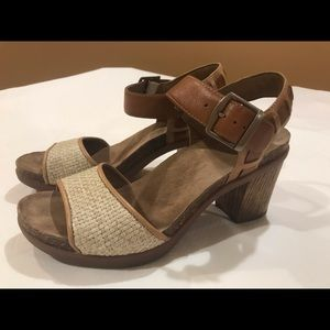 Dansko heel sandals